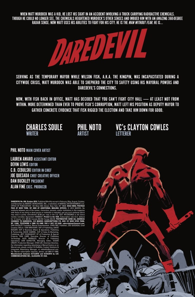 Marvel Preview: Daredevil #606