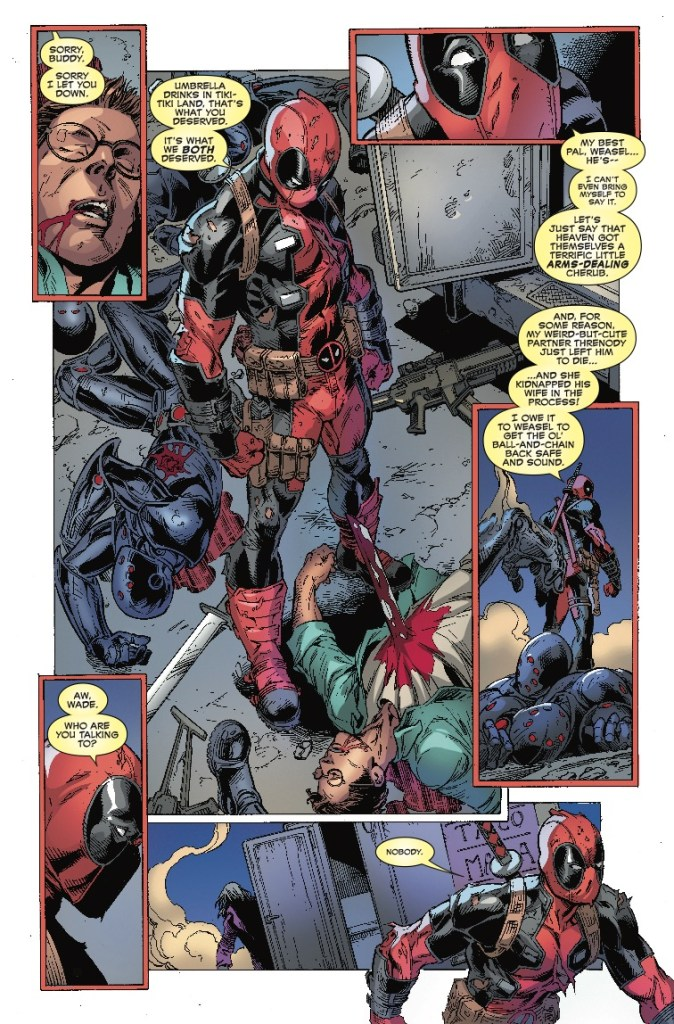 Deadpool Assassin #6 review: A fitting ending for a strong mini series