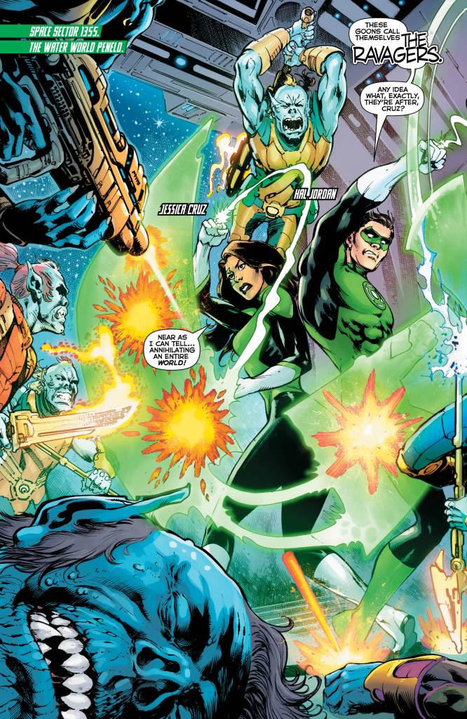 Green Lanterns #53 review: An okay issue that begins to show this arc's wasted potential