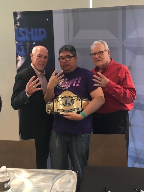 Pictures from Starrcast Convention leading up to 'All In'