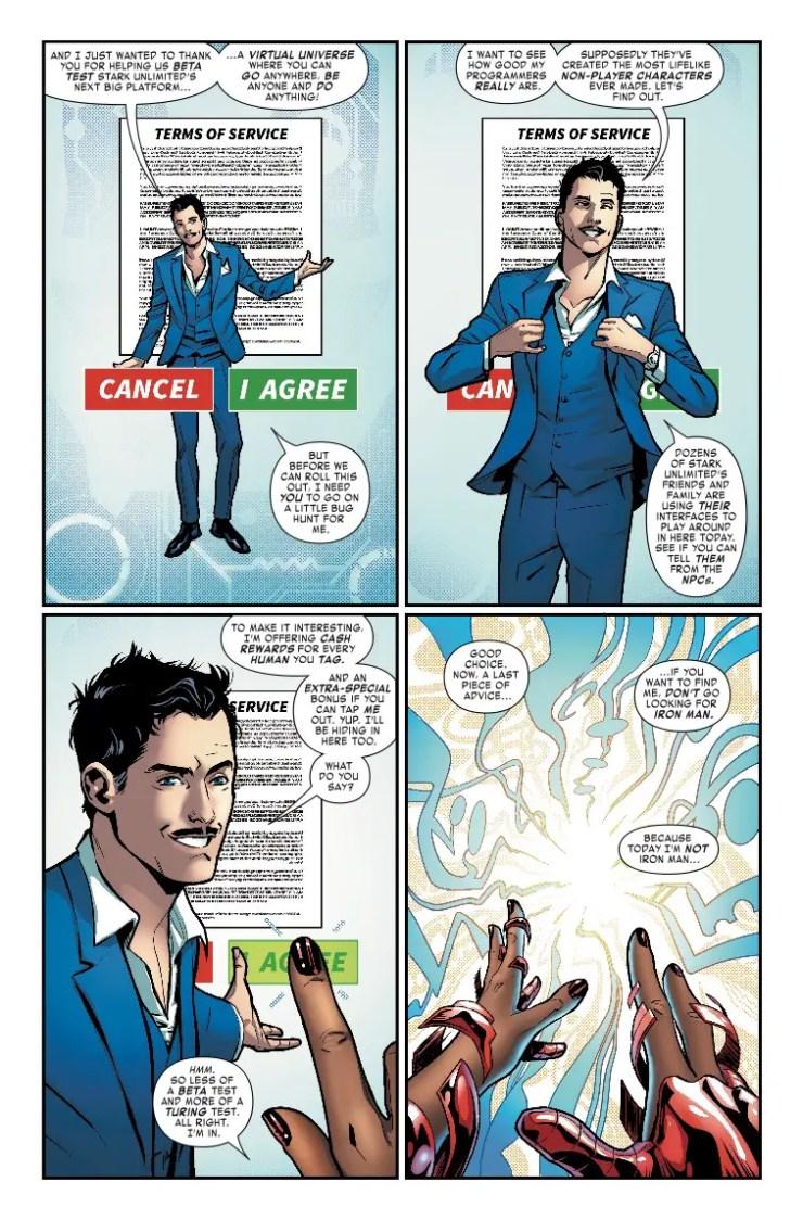 Marvel Preview: Tony Stark: Iron Man #3