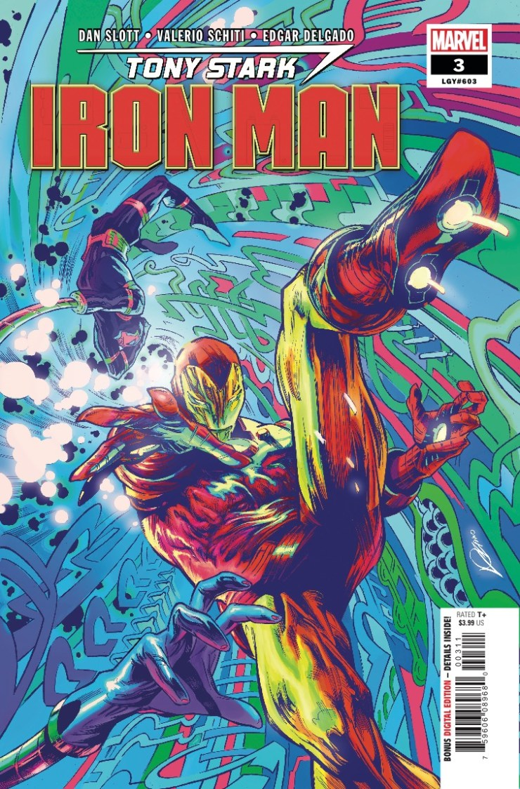 What is MACHINE MAN'S problem with (our) IRON MAN of 2018?