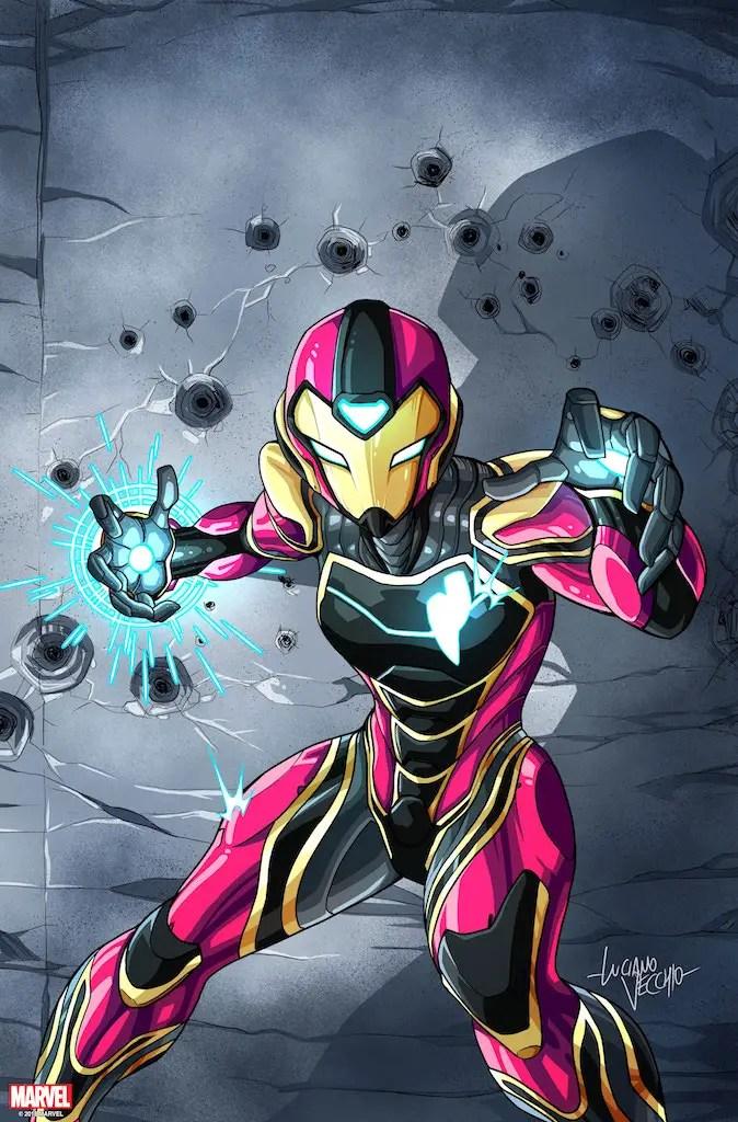 First Look: Marvel Comics announces Ironheart #1