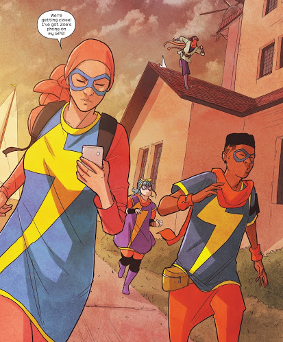 With 'Ms. Marvel Vol. 9: Teenage Wasteland,' G. Willow Wilson continues her successful and storied run