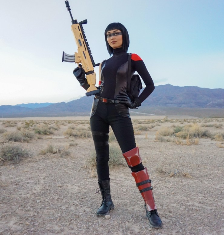 Fortnite: Shadow Ops cosplay by Brittany Wright