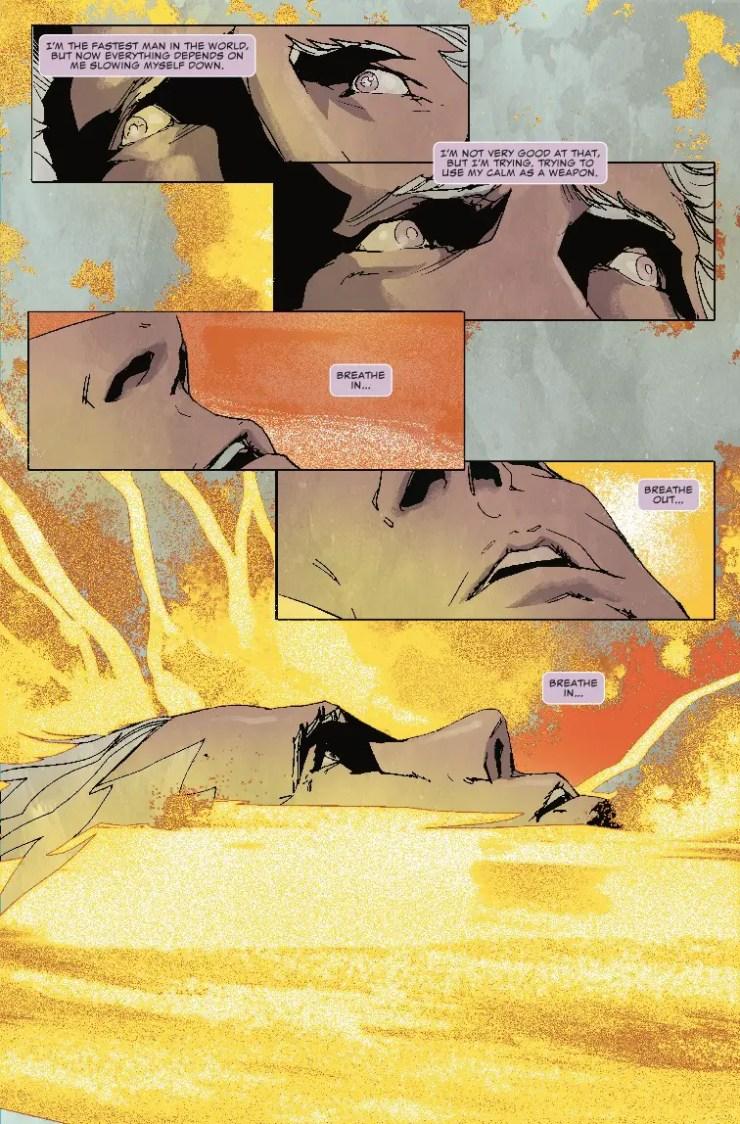 Marvel Comics: Quicksilver: No Surrender #5