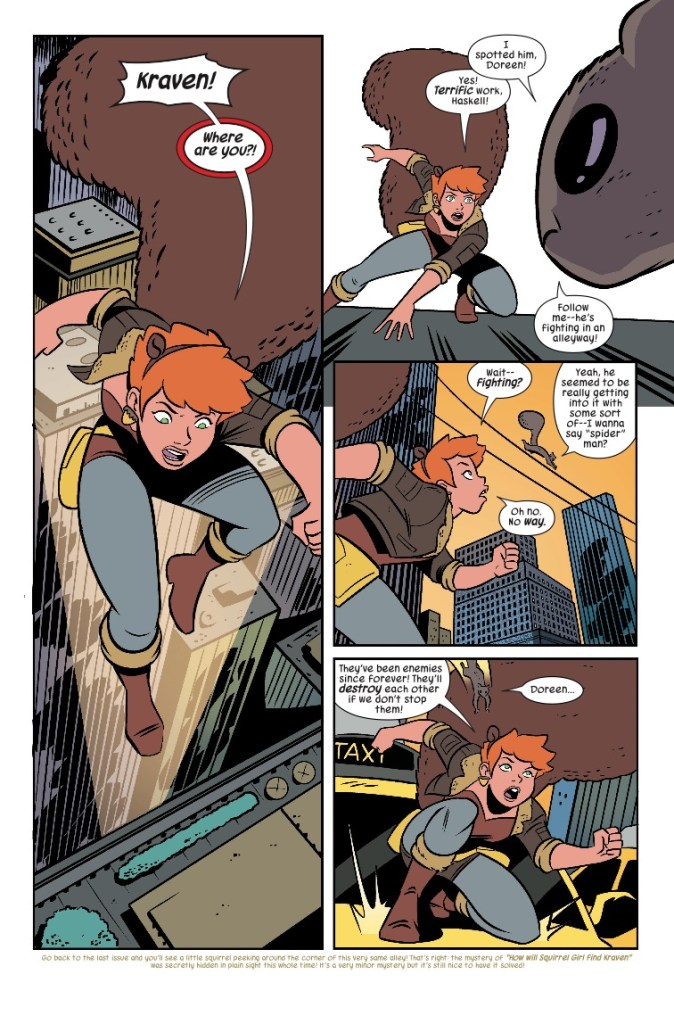 Marvel Preview: The Unbeatable Squirrel Girl #35