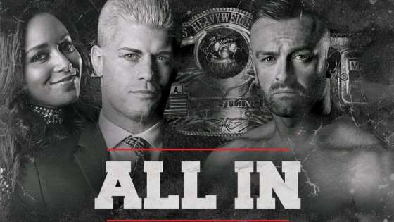 We're finally able to breathe this week after last week's WWE marathon, but not for long -- ALL IN, the self-funded indie mega-show from Cody Rhodes and the Young Bucks, is this weekend. We're taking a look at the card, as well as discussing the recently released top 10 list from the PWI 500, a list ALL IN competitor Kenny Omega topped.