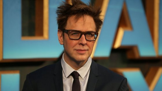 Months after being dumped by Disney, James Gunn returns to a superhero movie project.