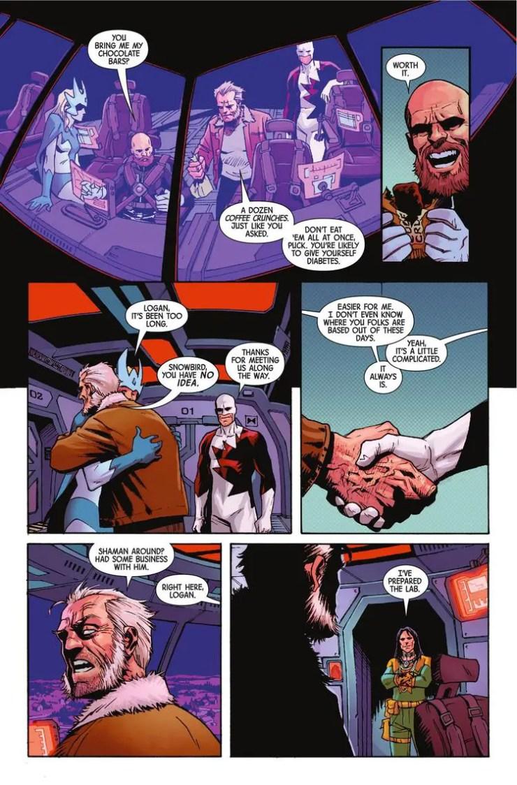 Old Man Logan #46 Review