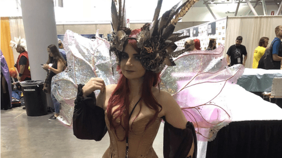 """It's like painting with tools basically."" an interview with cosplayer Scarlett Rose at FAN EXPO Boston"