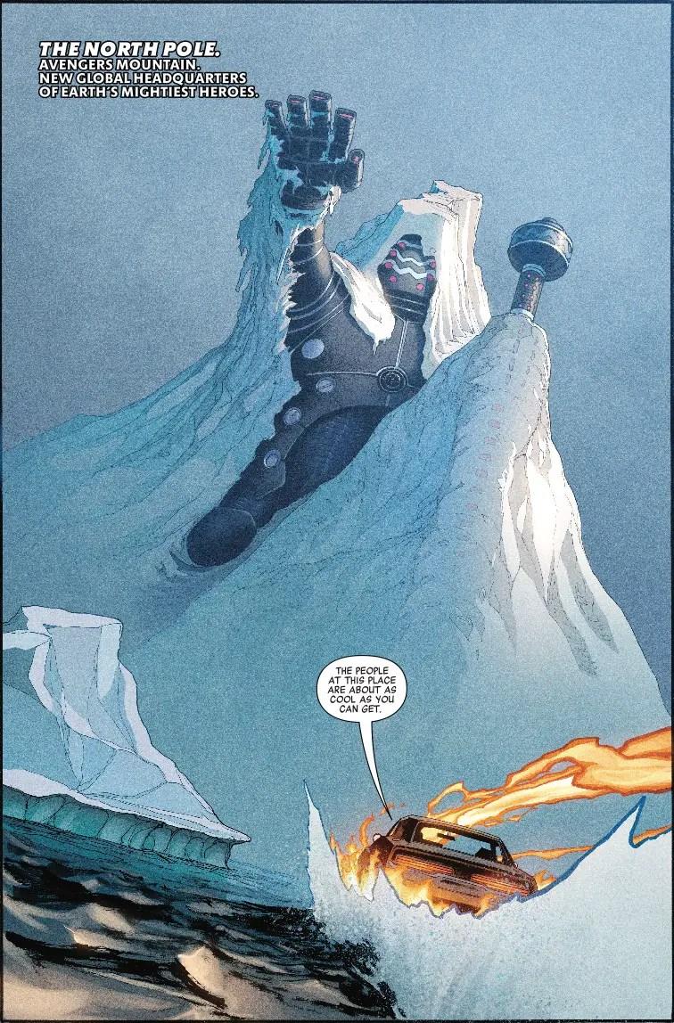"Avengers #8 Review: ""New superhero base, who dis?"""