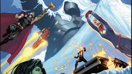 The Avengers begin to relax in a setup issue as the team dynamics become more clear.