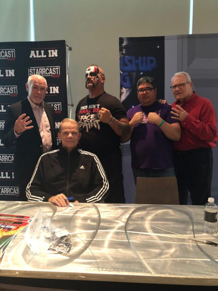 All In was a rousing success. The Starrcast that preceded it, however...