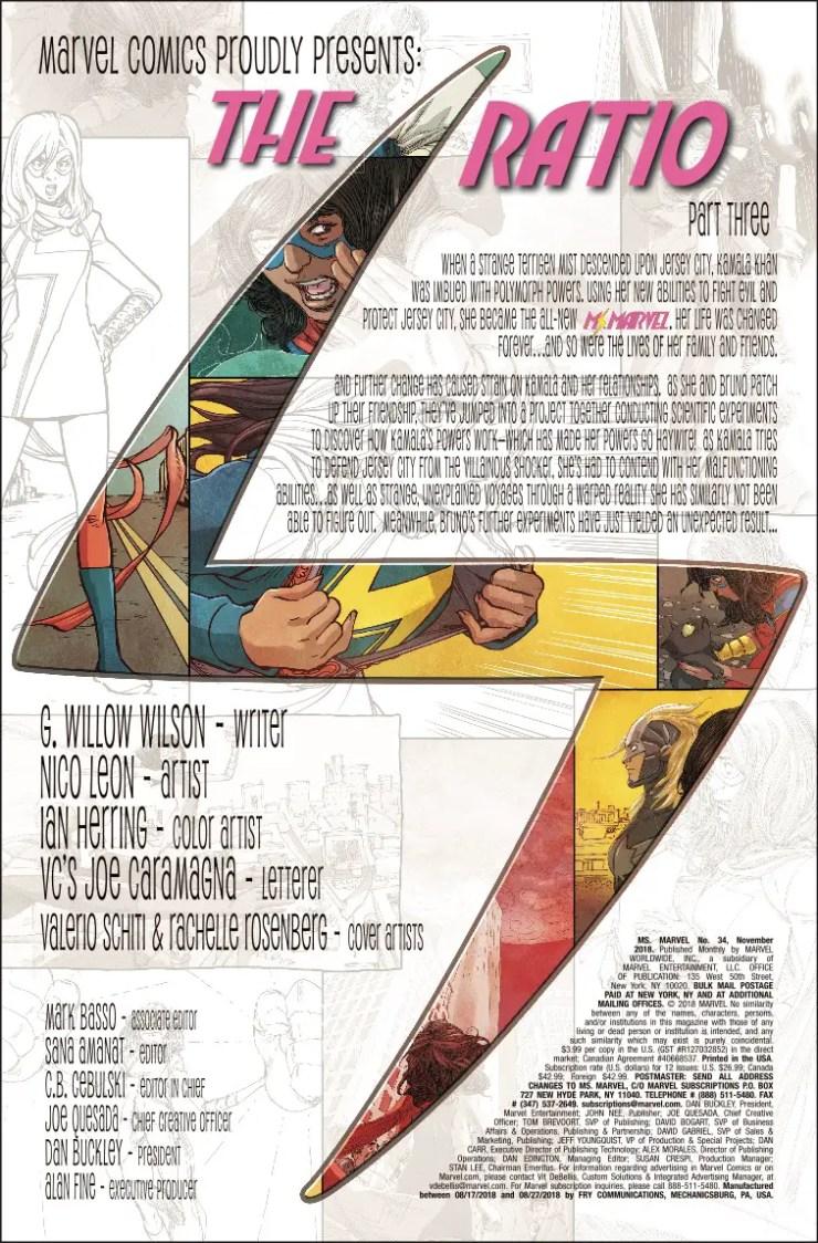 Marvel Preview: Ms. Marvel #34
