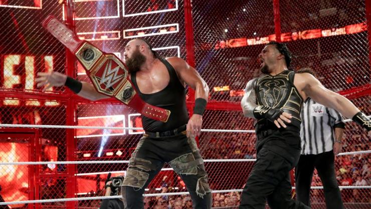 WWE Hell in a Cell 2018 was a throwback PPV (and a commercial for Super Show-Down)