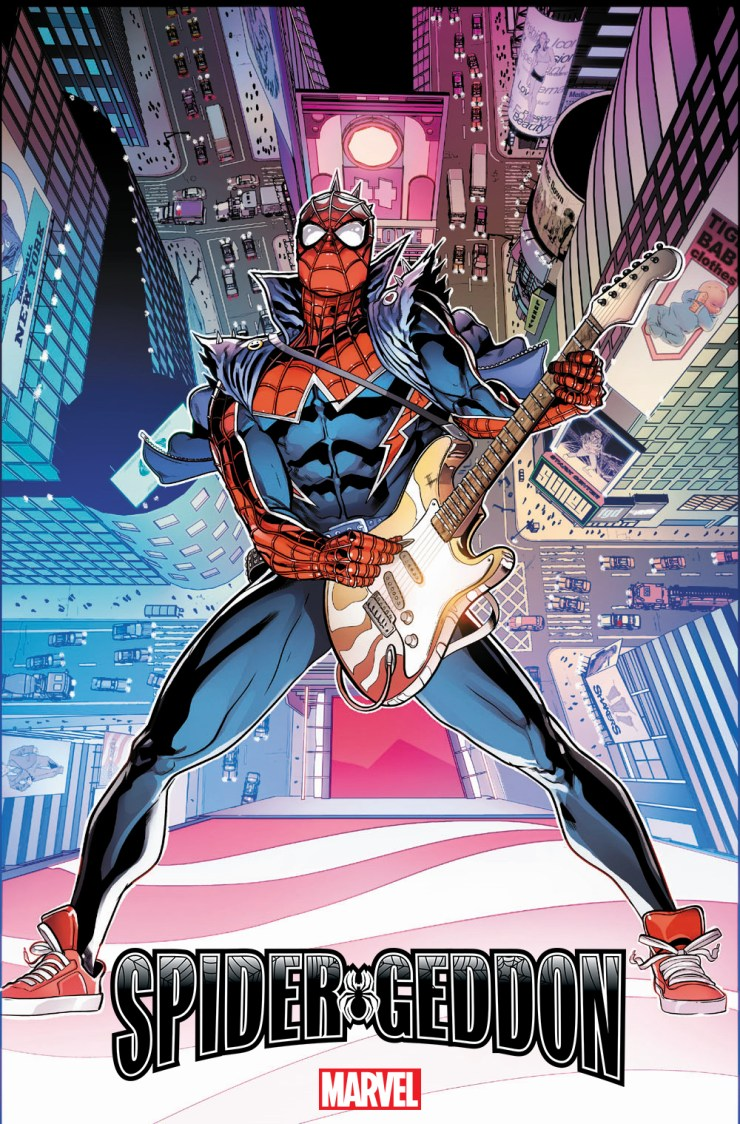 Marvel Comics reveals Will Sliney variant cover for Spider-Geddon #1