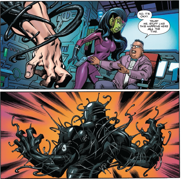 A brand new Symbiote is introduced in Venom: First Host #3