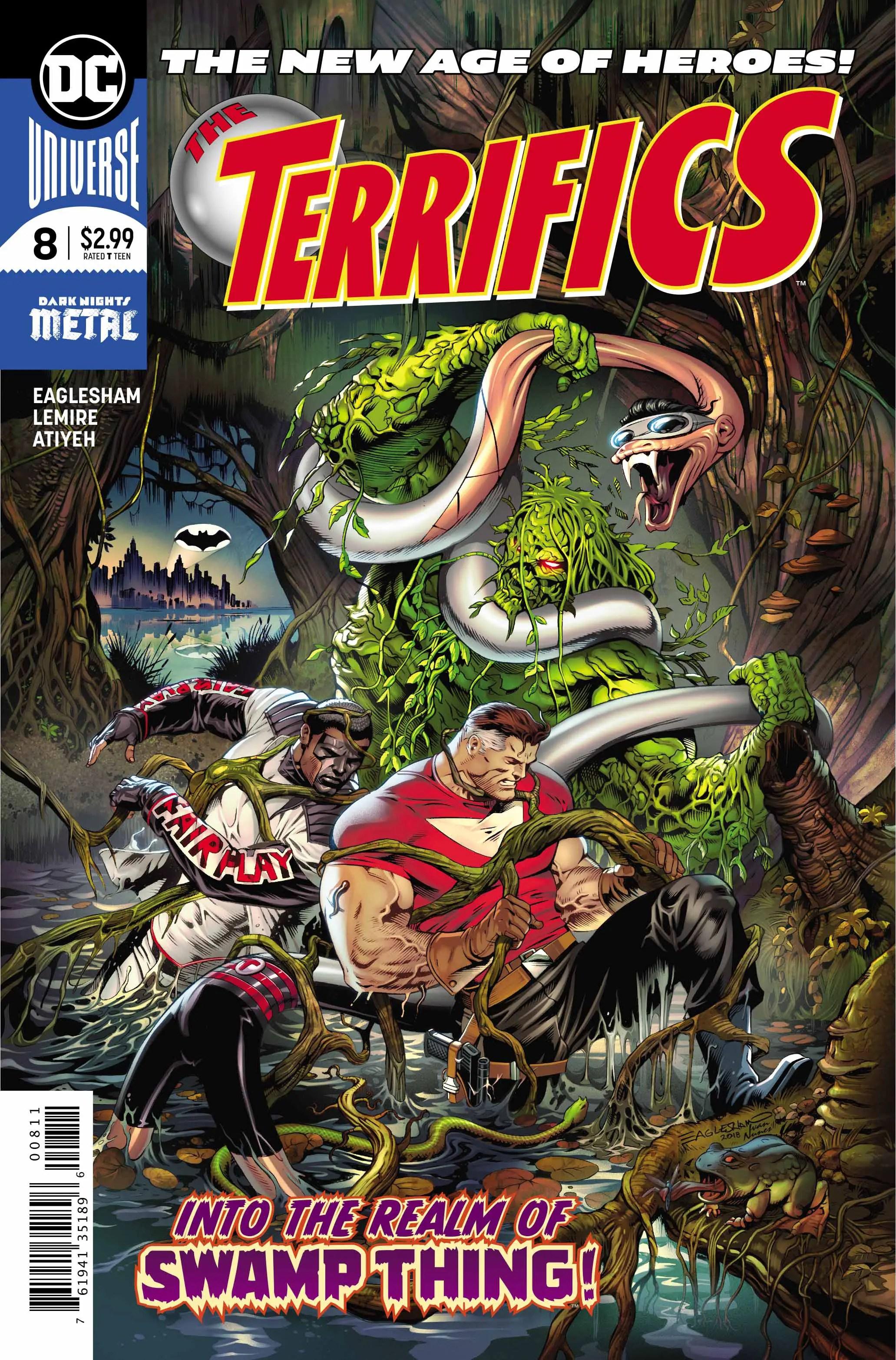 The Terrifics #8 Review