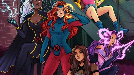 Marvel Reveals New UNCANNY X-MEN #1 Cover from Jen Bartel!