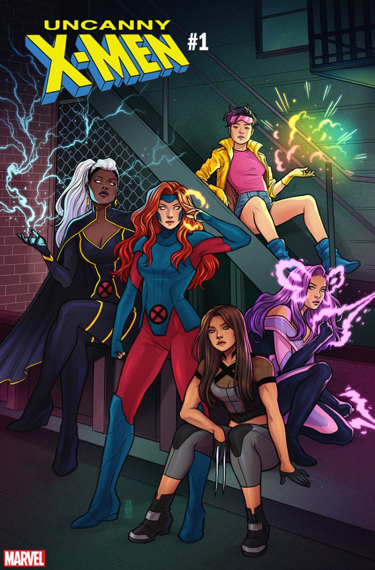 First Look: Uncanny X-Men #1 cover by Jen Bartel