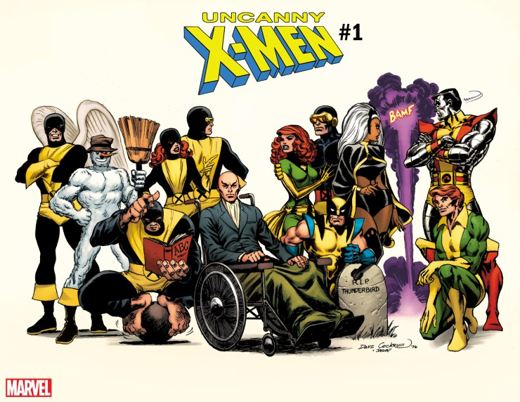 First Look: Uncanny X-Men #1 gem cover by comics legend Dave Cockrum