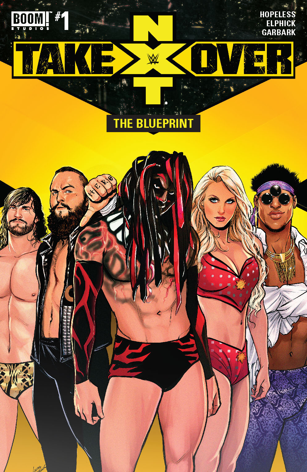 WWE NXT: The Blueprint #1 Review
