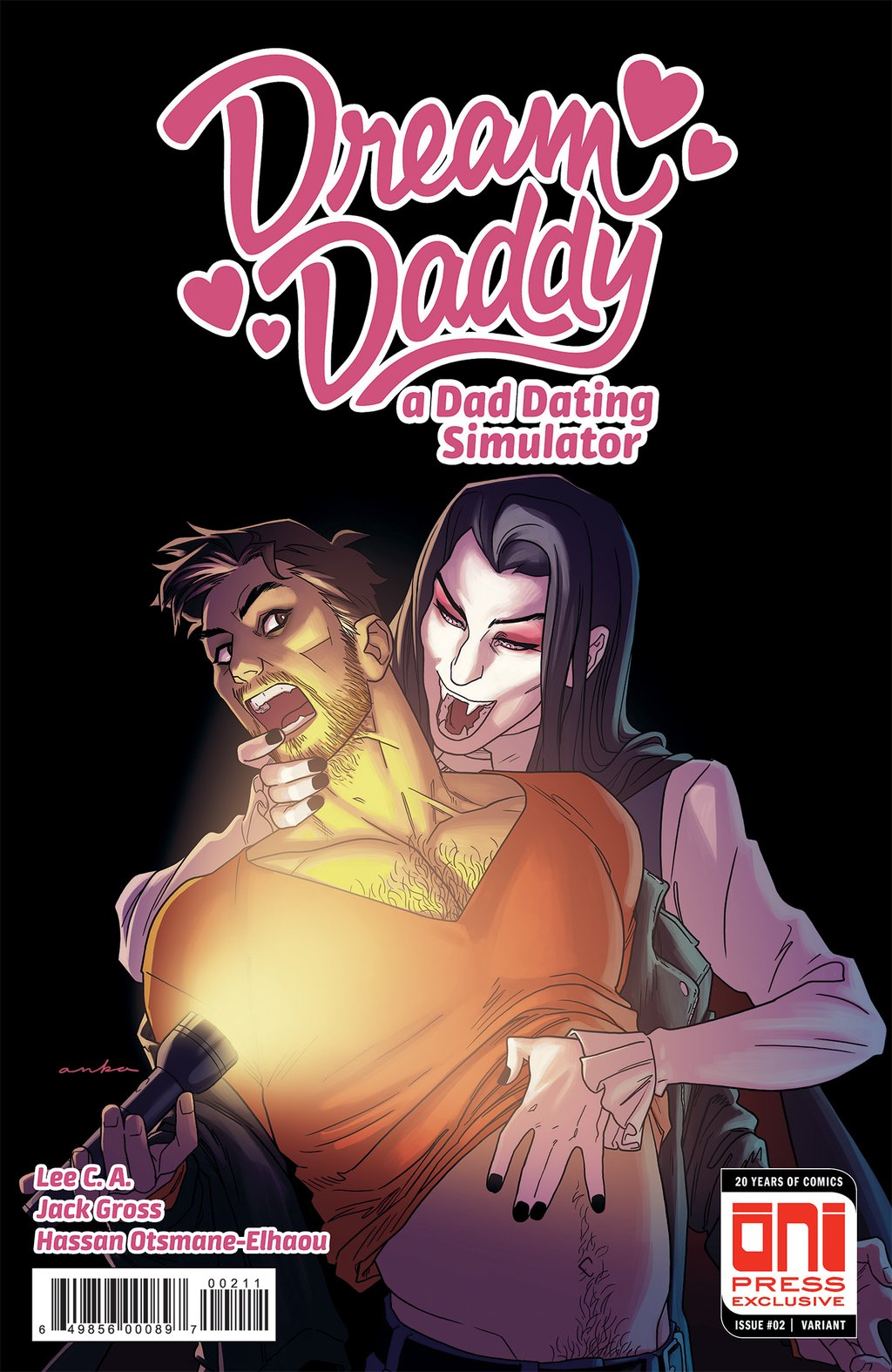 Dream Daddy #2 Review