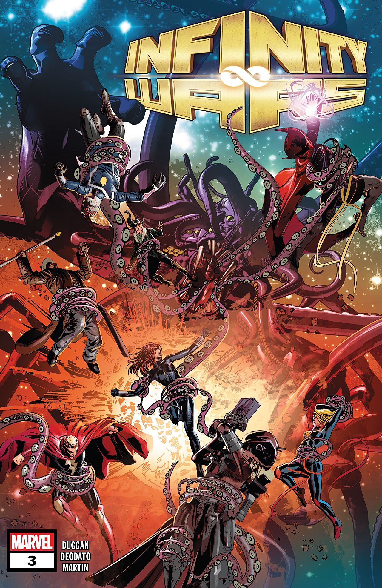 Infinity Wars #3 review: Who has control?