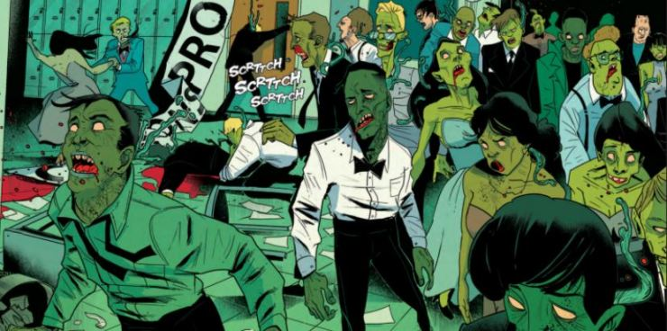 Spores Vol 1: Prom of the Dead review