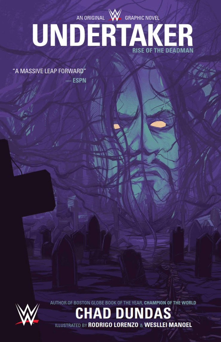 First Look: WWE: Undertaker Original Graphic Novel