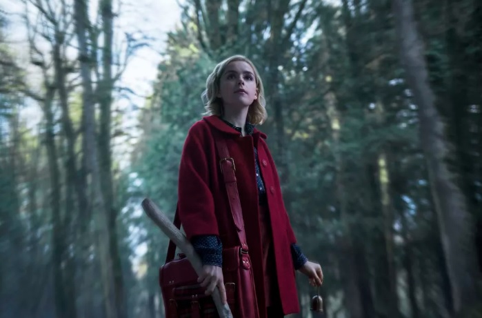 NYCC 2018: Cast of 'The Chilling Adventures of Sabrina' surprise Comic Con by debuting the first episode