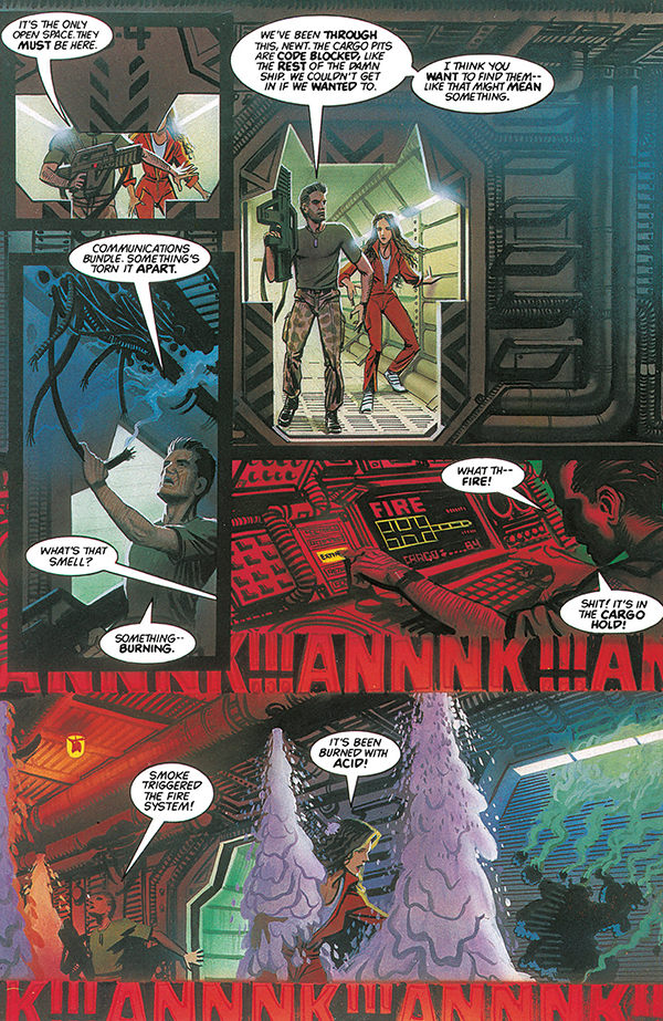 What works and what doesn't in 'Aliens: The Essential Comics Vol. 1'
