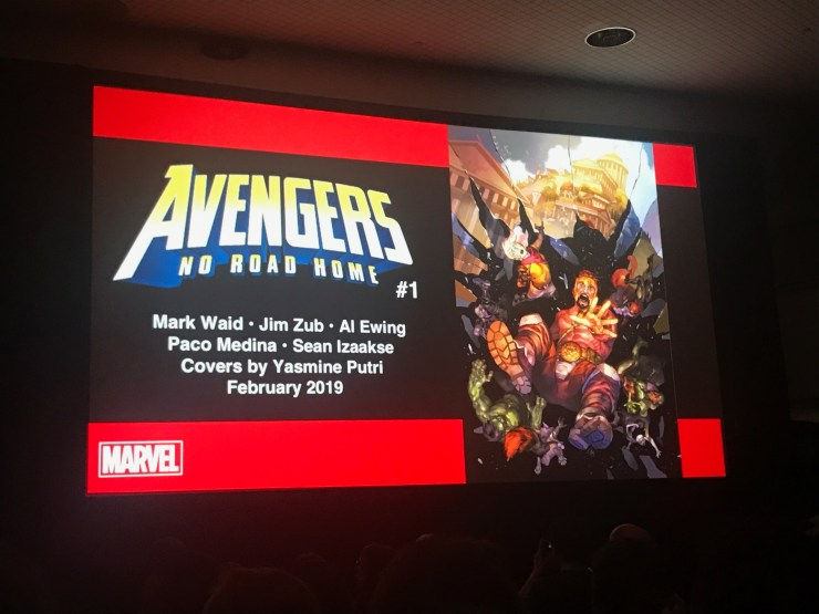 NYCC 2018: Marvel announces Avengers: No Road Home for February 2019