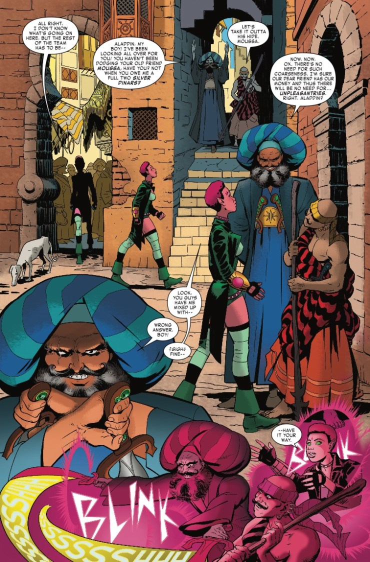 Marvel Preview: Exiles #9