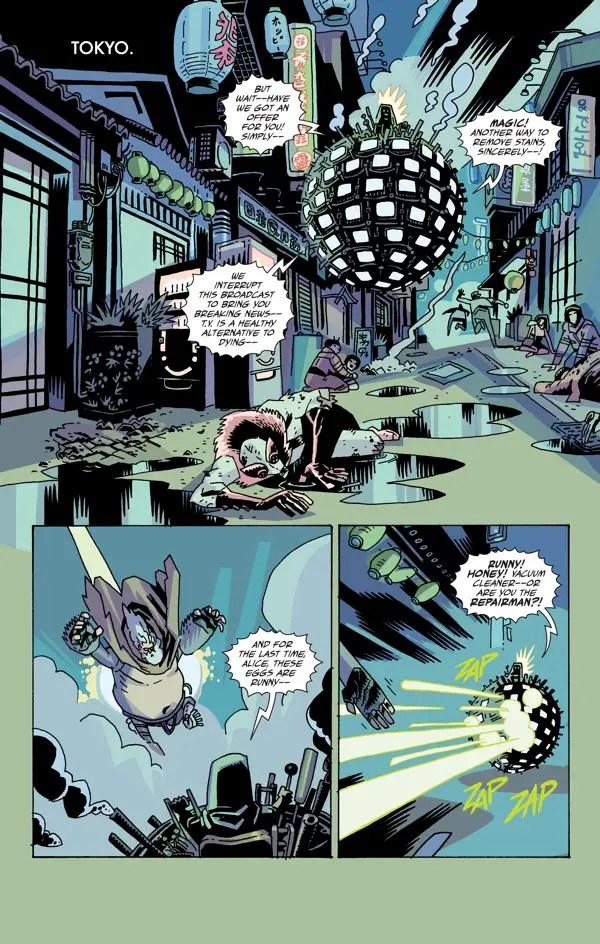 The Umbrella Academy: Hotel Oblivion #1 Review