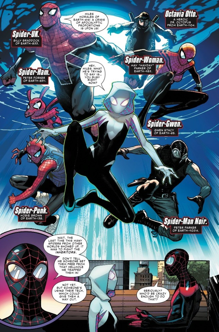 Spider-Geddon #1 review: Once more, with feeling