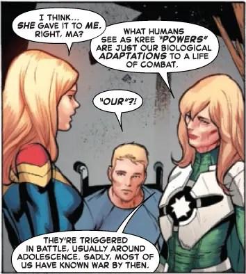 Captain Marvel's origin story changes in 'Life of Captain Marvel', altering her forever