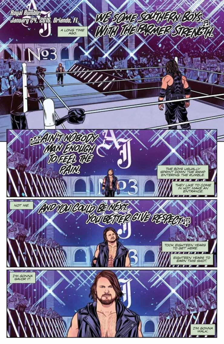 WWE #21 review: A 'Phenomenal' tale