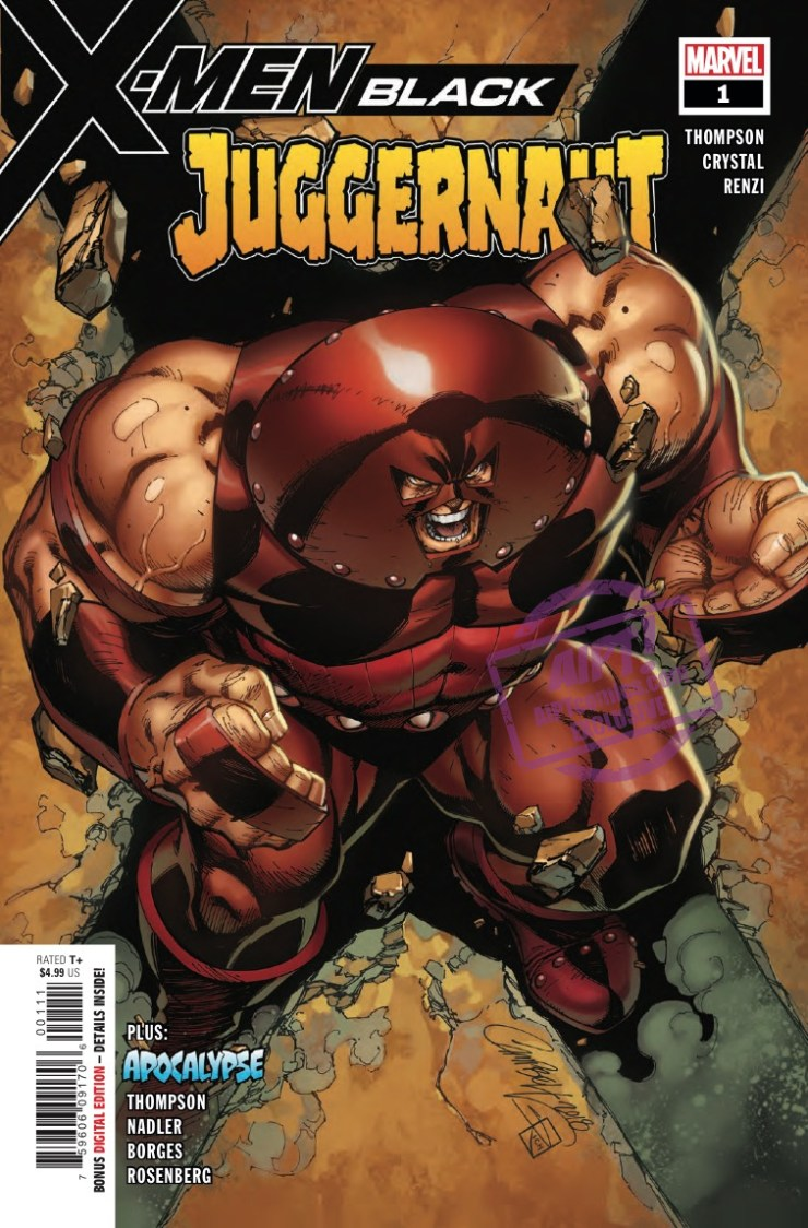 [EXCLUSIVE] Marvel Preview: X-Men: Black - Juggernaut #1