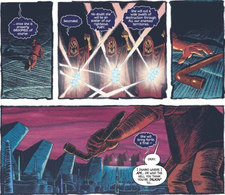 MCMLXXV #2 review: Fast-paced action highlights a single-minded story