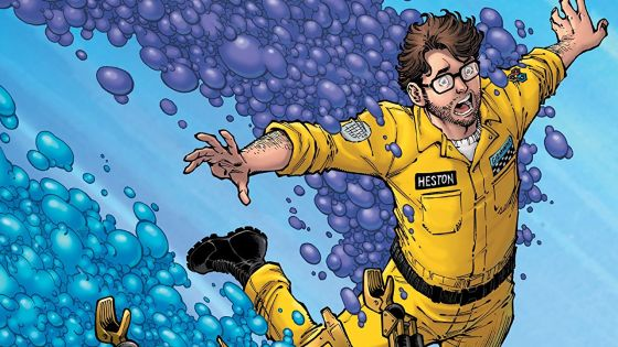Incepted into three different public domain comics by Kinga Forrester's Bubbulat-R, the heroes of Mystery Science Theater 3000 struggle to riff themselves free.