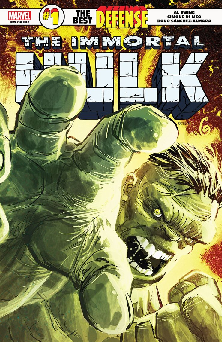 Marvel Preview: Immortal Hulk: The Best Defense #1