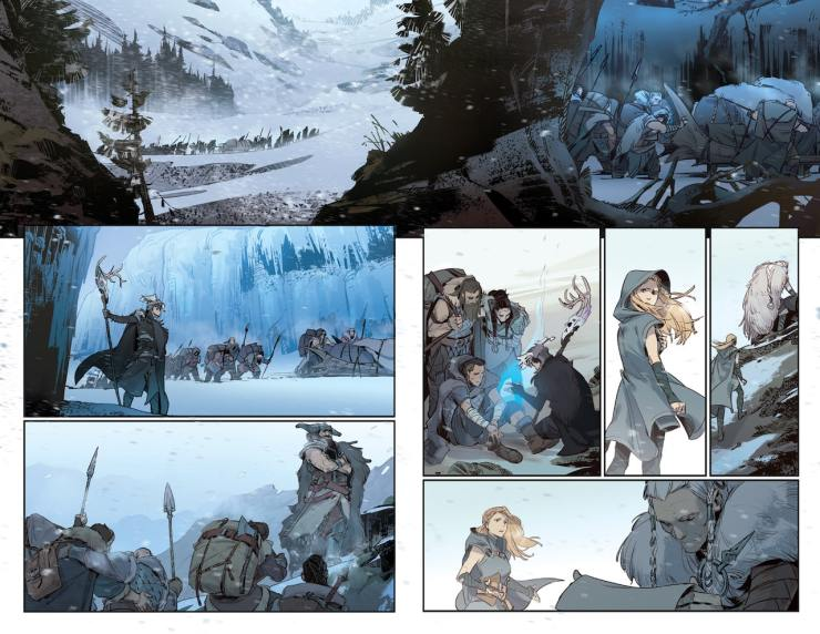 First Look: Marvel and Riot Games team up for 'League of Legends: Ashe: Warmother special edition' #1