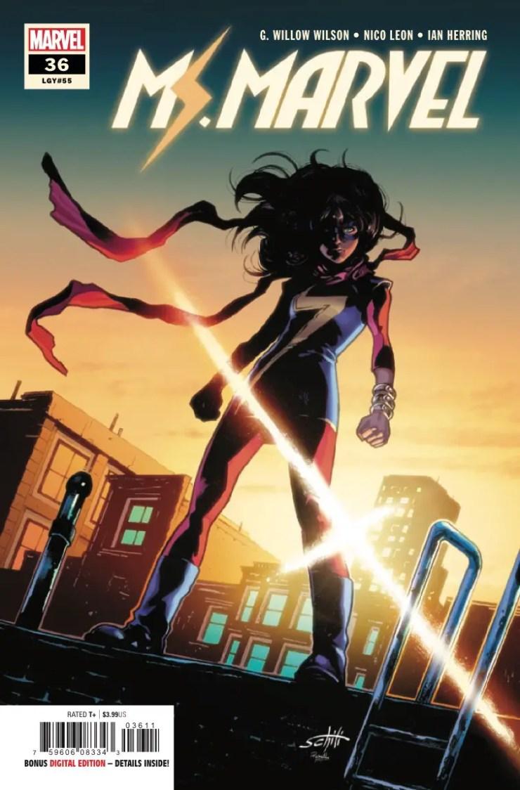 Marvel Preview: Ms. Marvel #36
