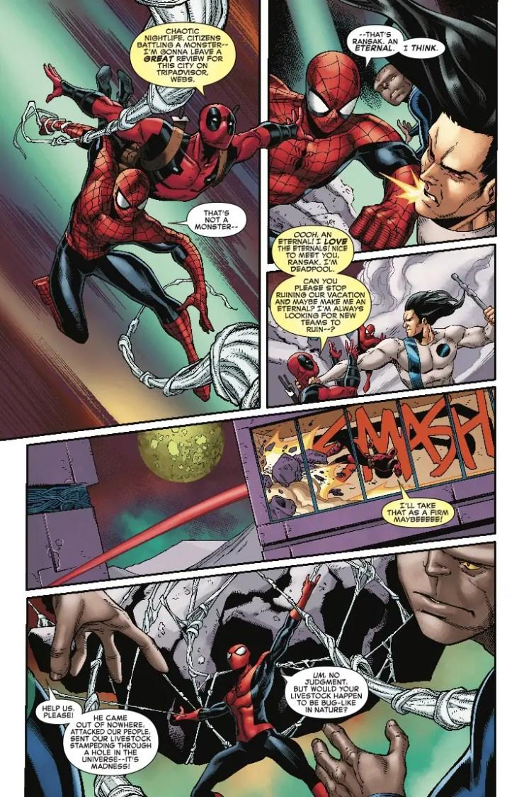 Marvel Preview: Spider-Man/Deadpool #43