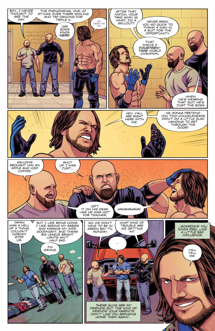 WWE #22 review: Too sweet