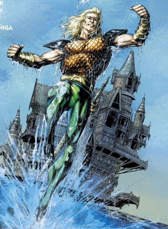 Every Aquaman costume from 1941 to date
