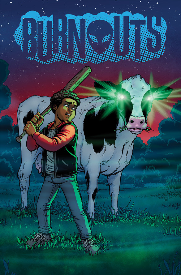 Burnouts #3 Review: Alcohol, weed, and evil cows