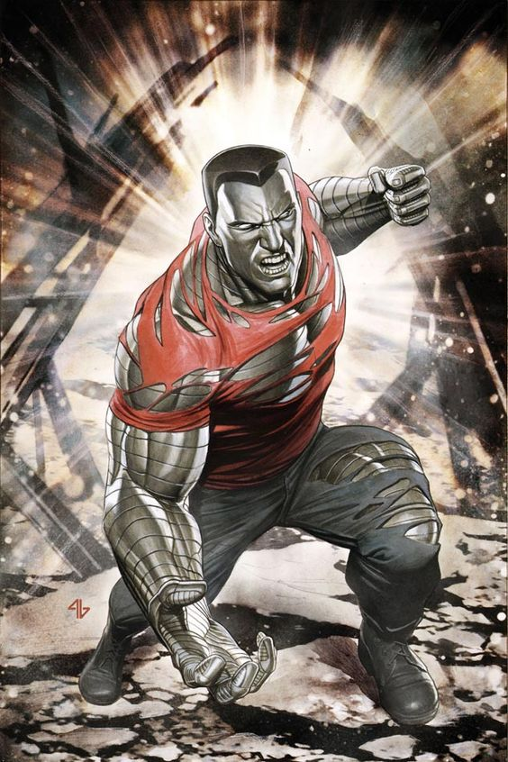 Is the X-Men's Colossus' skin really 'organic steel' or something... else?